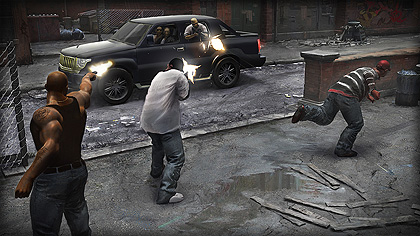 Gang War - Fight for control of the city against other gangs.