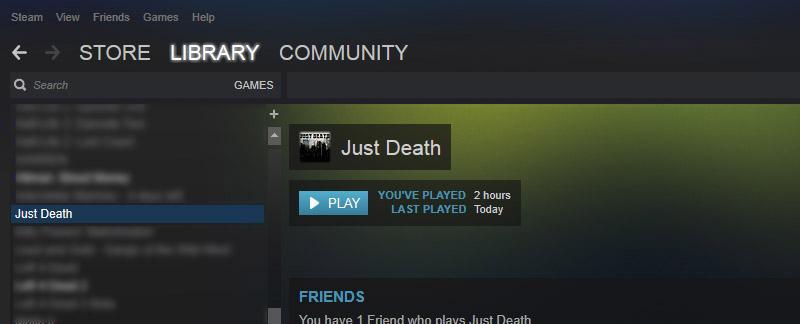 Just Death in Steam