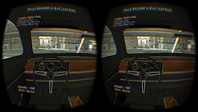 Oculus DK2 1st Person Driving.