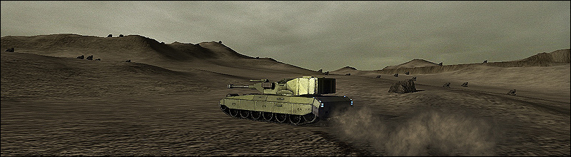 Legion Battle Tank ( Pre-Alpha Screenshot )