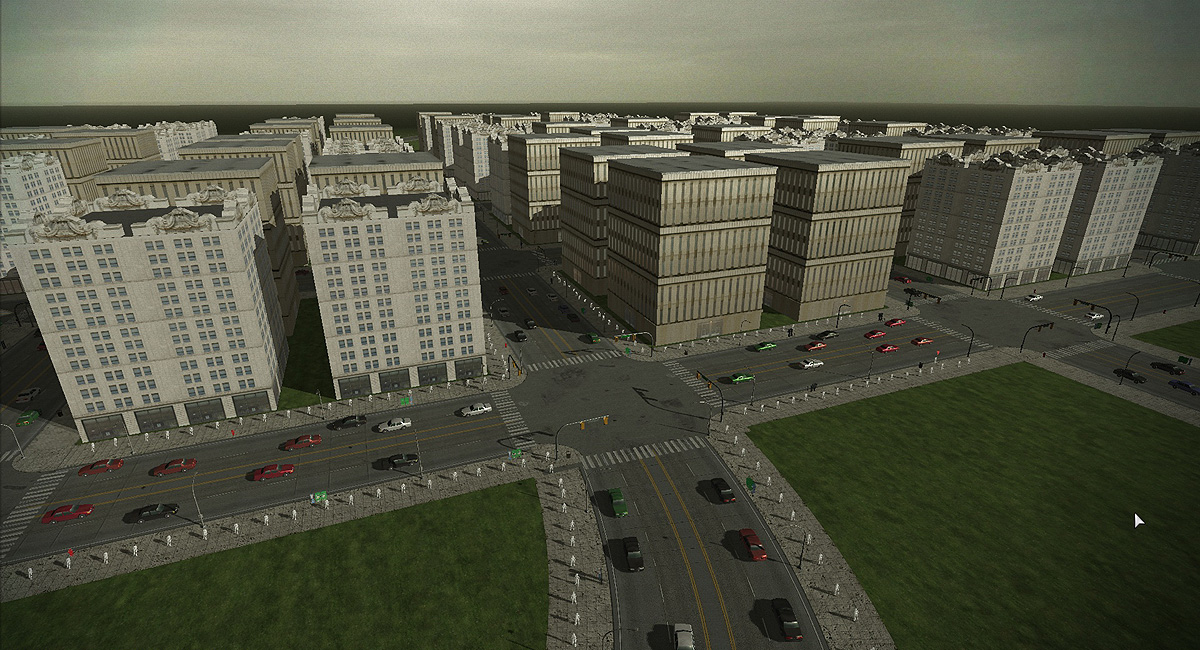 Making lots of progress on the procedural city generation